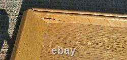 1960s Vintage Wood Serving Tray JAPAN brass trim 20 x 13 Standard Specialty