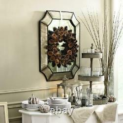 3 Tier Decorative Tray Round Rustic Wood Serving Table Organizer Display Stand