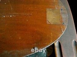 Antique Manning Bowman Mahogany Serving Tray Middletown Conn