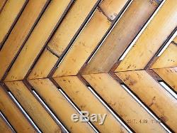 BAMBOO-WOOD-SERVING-TRAY-LEAF-SHAPE Table Set Vantage