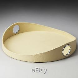 Charlton Home Oval Solid Serving Tray