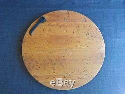 Cheese bread meat board platter tray serving knife spanner industrial table