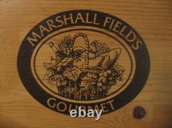 Chicago's Iconic Marshall Field's Serving Tray Wine Box Crate