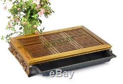 Chinese Tang Grape Green Sandalwood Gongfu Tea Tray Serving Table 4733.58cm