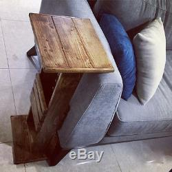 Coffee Side Sofa Tray Table Couch Console TV Lap Serving End Table Modern Wood