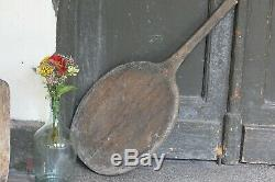 Country Wood Breadboard French Vintage House Serving Tray Antique Oven Board