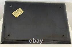 Couroc of Monterey Horse Tray Mid Century Inlaid Wood Brass Platter Vintage