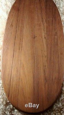Dansk Denmark international designs ltd. IHQ wood tray 22 1/2 inches long