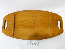 Dansk Designs Denmark IHQ Teak Surfboard Serving Tray 802 MCM Mid Century Modern