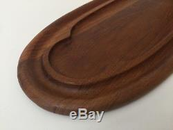 Dansk International Designs Ltd. IHQ Wood Tray, 22 1/2 x 10, Weights 2.8 Lbs