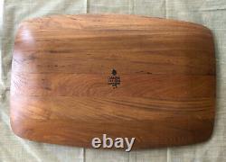 Dansk Teak Wood Cutting Board Serving Tray Jens Quistgaard Ihq
