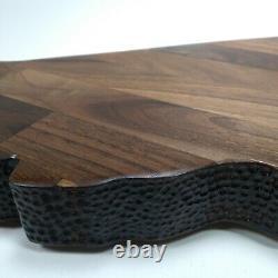 English walnut California Charcuterie Board cutting board serving tray handmade