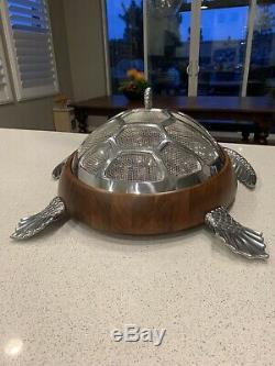 Frontgate Ocean Luxe Sea Turtle Chip And Dip Server