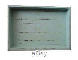 Giant Wood / Wooden Display / Serving Tray 36 x 18 Mint Decorative