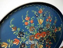 Gorgeous Dutch Hindeloopen Serving Tray Dutch Folk Art Netherlands Bootsma