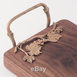 Grape Vine Serving Board Michael Michaud Table Art Walnut Wood Serving Tray