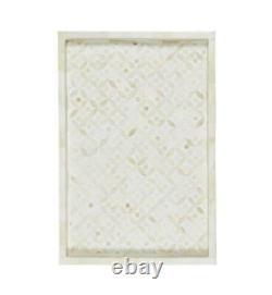 Handmade Bone Inlay Tray Decorative Serving Tray Best Home Decor Purpose Occasio