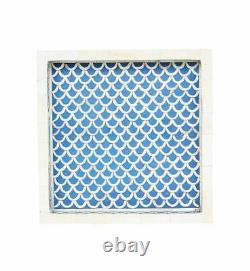 Handmade Bone Inlay Tray Small Square Tray Serving Tray All Occasion Gifts