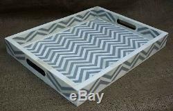 Handmade Bone Inlay tray Serving Tray Dinning table decor Tray Home Decor