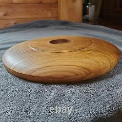 Handmade Hand-Turned Butternut (White Walnut) Platter Serving Tray 27, Food-Safe