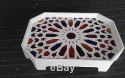 Handmade moroccan Tea Tray Serving Table