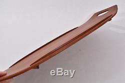 ICONIC 1950s Jens Quistgaard DANISH MODERN Teak WOOD Serving TRAY 803 Platter EX