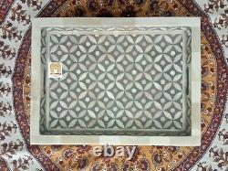 In stock Bone Inlay Tray large Tray Decorative Serving Tray waterproof tray