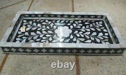 In stock mother of pearl Inlay Tray small tray Serving Tray waterproof tray