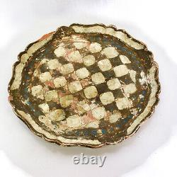 Italian Giltwood Serving Tray plate
