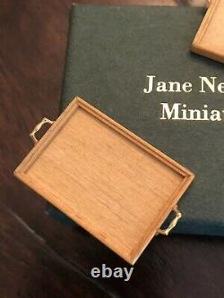 Jane Newman Miniatures England Serving Trays112th Scale