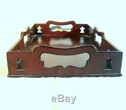 Kittinger Serving Tray Colonial Willamsburg Collection Mahogany