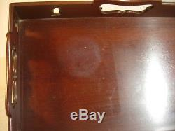Kittinger Serving Tray Colonial Willamsburg Collection Mahogany