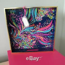 Lilly Pulitzer Beach Loot Lacquer Hostess Serving Or Desk Tray-boxed