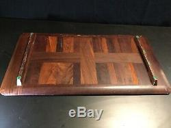 MCM Dansk Rare Woods Collection Cocobolo Serving Tray by Jens Quistgaard