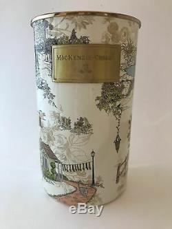 MacKenzie-Childs AURORA Wood Handle Serving Drink Tray Retired & VERY HTF