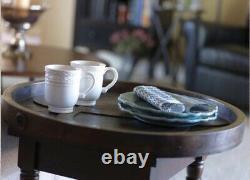 Mary & Martha Ampersand Serving Tray Or Wall Decor Wedding Solid Wood &