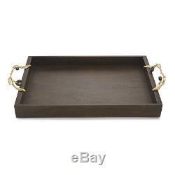 Michael Aram Olive Branch Serving Tray Wood