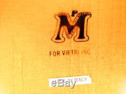 Mid Century Modern Wooden Tray Manzoni Pietro Vietri Bergamo Italy Serving Tray