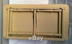 Mid Century Wood Folding Bed Tray Serving Tray adjustable top