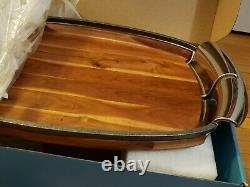 NAMBE Anvil Tray VHTF New In Box Retired #MT0357 Wood & Metal $225+ MSRP