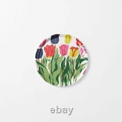 New Svenskt Tenn Sweden Josef Frank Wood Plywood Tray Flowers Tulips 14 x 11