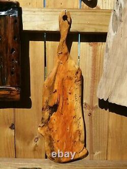 Old Growth Burl Southern Magnolia Wood Charcuterie Cheese Serving Board WallArt