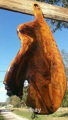 Old Growth Burl Southern Magnolia Wood Charcuterie Cheese Serving Board Wall Art