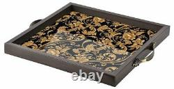 Premium Wooden Serving Tray Set of 3 for Home and Office