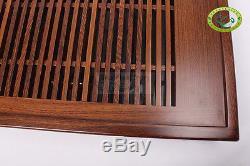 QiFeng Millettia Wood Gongfu Tea Table Serving Tray 50cm28cm