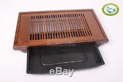 QiFeng Wenge Wood Gongfu Tea Table Serving Tray 19.68x11 / 50cm28cm