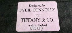 RARE TIFFANY & CO. By SYBIL CONNOLLY FLORAL SERVING TRAY EX