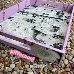Revolutionary Girl Utena Shoujo decoupage collage manga anime Wood Serving Tray