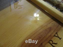 Robert Mondavi Winery Ironwood & Vine Studio Wood Serving Tray Epoxy Cork Signed