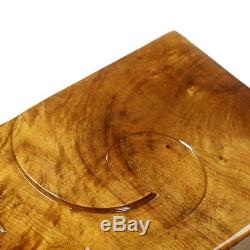 S. Lee wood tea tray newly listed solid wood tea table wooden serving tray L48cm